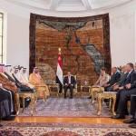 تطوير التعاون العسكري بين المملكة ومصر وإنشاء قوة عربية مشتركة