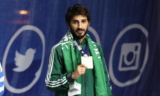 عماد المالكي بطلاً للدوري العالمي للكاراتيه