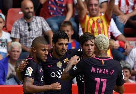 برشلونة يعود بخماسية من دون ميسي ويتصدر الدوري الأسباني