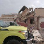 انهيار منزل وإصابة امرأة في تسرب غاز بالرياض