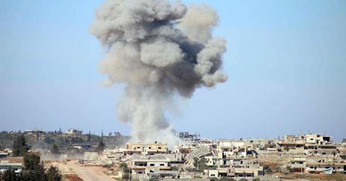 قوات النظام السوري تواصل قصفها لمواقع بريف اللاذقية