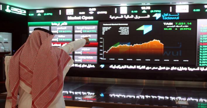 ارتفاع مؤشر سوق الأسهم السعودية بمقدار 132.06 نقطة