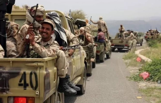 مصرع 8من عناصر ميليشيا الحوثي الانقلابية بنيران الجيش اليمني في صرواح