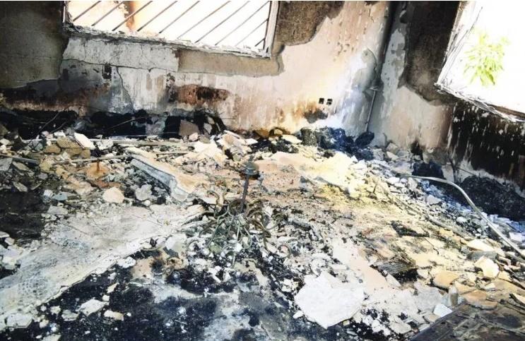 """حريق يؤدي بحياة والدة وشقيقي بطل محطة الوقود """"الدوسري"""""""