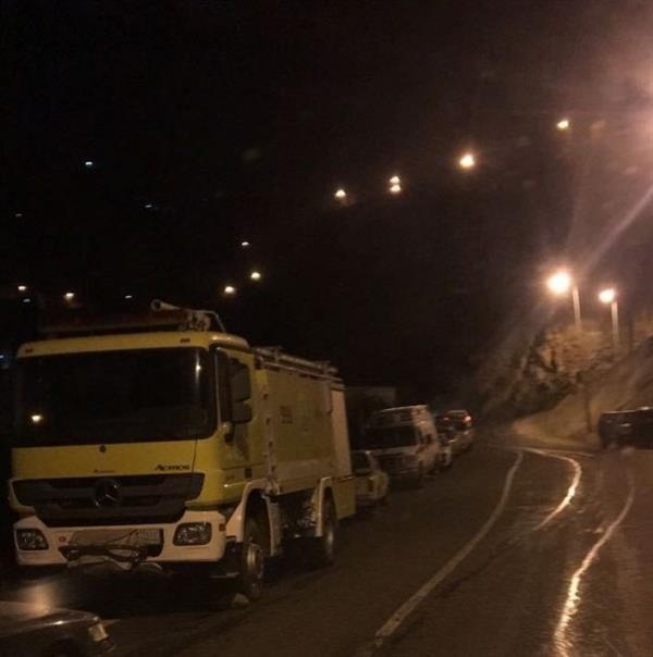 مصرع وإصابة 8 من عائلة واحدة في حادث مروع أعلى جبال فيفا بجازان (فيديو وصور)
