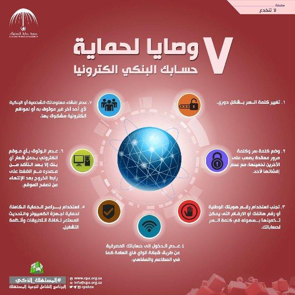 c1e744c1c163f 7 نصائح مهمة من «حماية المستهلك» لمنع اختراق حساباتك البنكية إلكترونيًّا