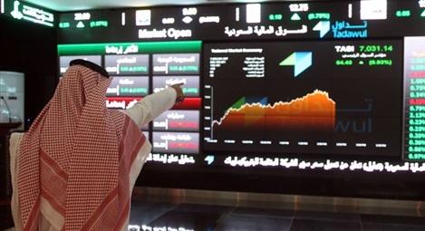 مؤشر سوق الأسهم يغلق مرتفعًا عند مستوى 6986.40 نقطة