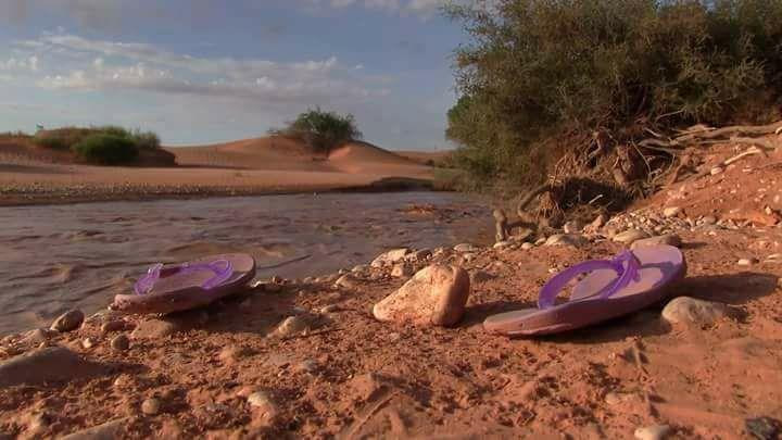 العثور على جثة طفلة مفقودة جرفتها مياه الأمطار بوادي الثمامة