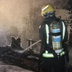 وفاة طفلة في حريق بالمدينة