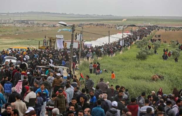 استشهاد شاب فلسطيني شرق مدينة غزة ليرتفع عدد الشهداء إلى 60