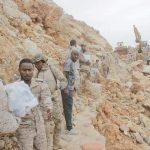 """بالصور.. عمليات إغاثية للقوات السعودية بجزيرة سقطري اليمنية التي ضربها إعصار """"مكونو"""""""