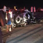 حادث مروري مروع يخلف وفاة وإصابتين بالمخواة