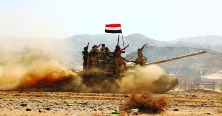 الجيش اليمني يحرر عددًا من المواقع في مديرية نهم