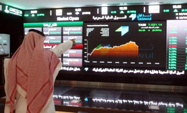 مؤشر سوق الأسهم يغلق مرتفعًا عند مستوى 6208.65 نقطة