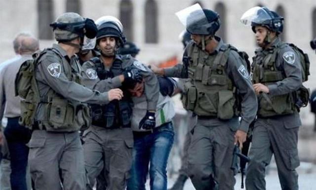 قوات الاحتلال تعتقل أربعة فلسطينيين من محافظة الخليل
