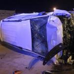 تصادم مُروع بين مركبتين يسفر عن وفاة شخص وإصابَتين بالباحة