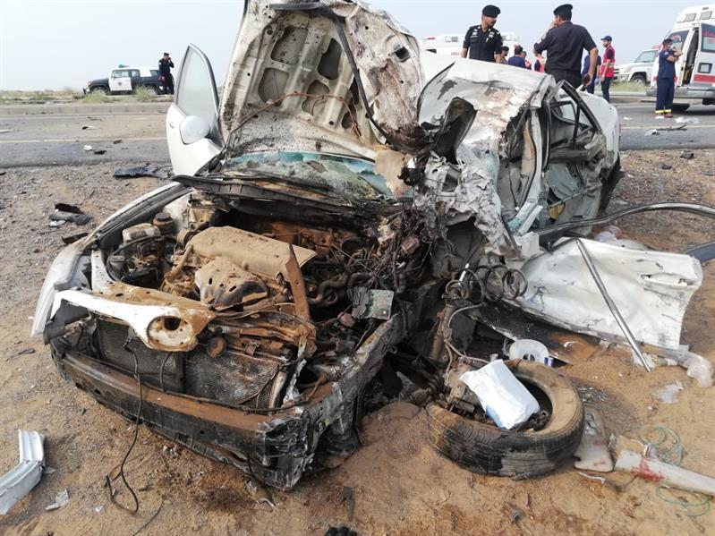 """وفاة 3 أشخاص إثر حادِث مروري مروع في """"مضايا جازان"""""""