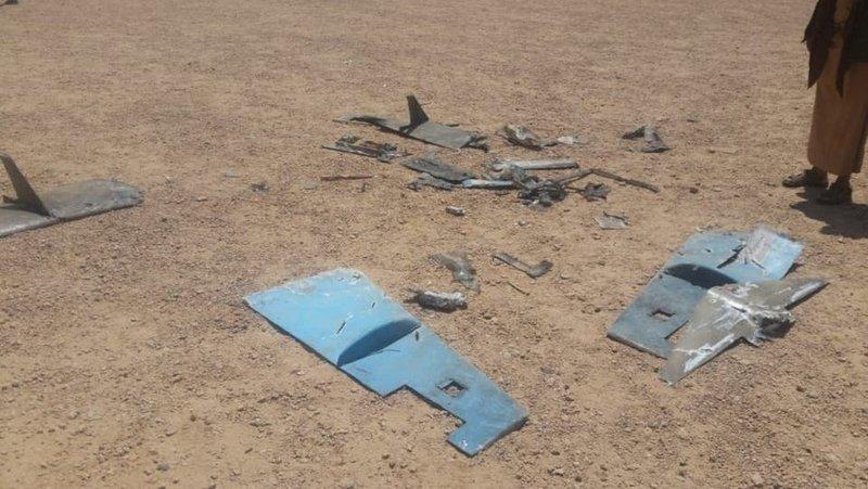 الجيش اليمني يُسقط طائرة مُسيرة حوثية قبل استهدافها موقعاً عسكرياً