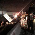 تصادم وسقوط مركبتين و9 ضحايا إثر حادث مروع فوق عقبة شعار