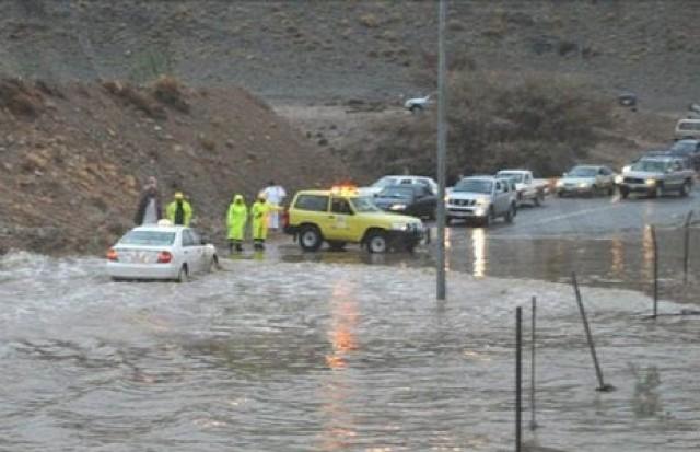 """""""مدني مكة"""" يحذر من تغيرات الأحوال الجوية"""