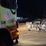 وفاة وإصابة 10 أشخاص في حادث مروع بين مركبتين ببريدة