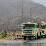الدفاع المدني بجازان يحذر من تقلبات مناخية على المرتفعات الجبلية