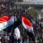 العراق.. مقتل رجل أمن وإصابة ١٤ ضابطا إثر اشتباكات مع المتظاهرين