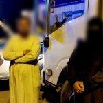 """""""أمن الطرق"""" يضبط مقيماً آسيوياً مطلوباً في قضية سرقة وبرفقته عاملة منزلية هاربة ببيشة"""