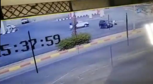 شرطة عسير توضح ملابسات مقطع دهس مواطن لزوجته في خميس مشيط