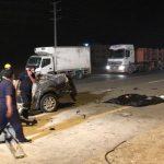 وفاة شخصين وإصابة آخر إثر حادث مروري مروع بالجموم