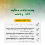 الموارد البشرية تنشر سلسلة بروتوكولات وقائية في مقرات العمل