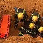 وفاة شخص جراء انهيار بئر أثناء الحفر ببريدة