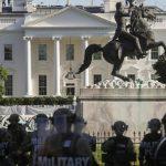 وزارة الدفاع الأمريكية تعلن نشر وحدات من الشرطة العسكرية والجيش في العاصمة واشنطن