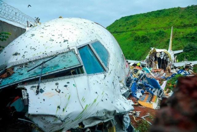 18 قتيلا وعشرات الجرحى في حادث تحطم طائرة مدنية بالهند