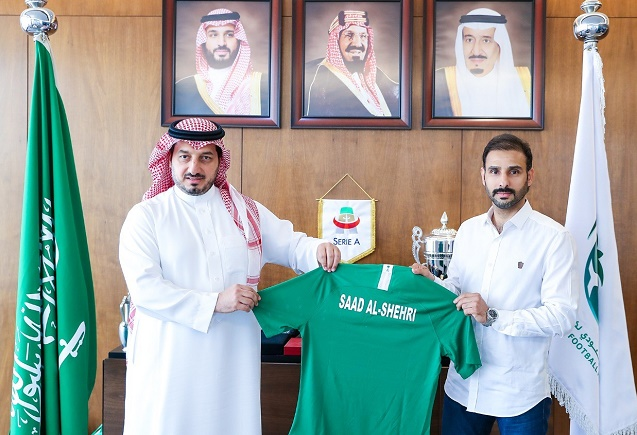 تمديد عقد مدرب الأخضر الأولمبي سعد الشهري لأربعة مواسم