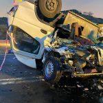 وفاة وإصابة 3 أفراد إثر انقلاب مركبة في الباحة