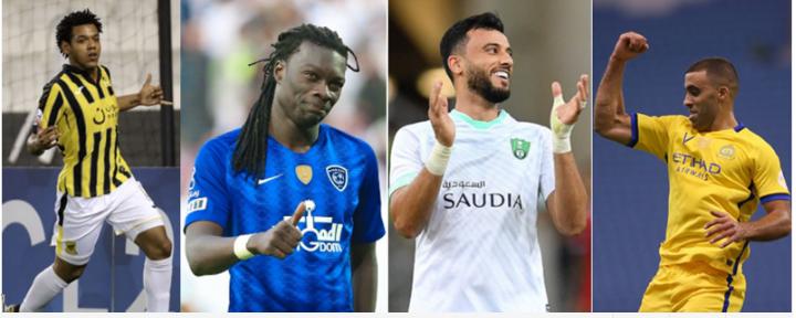 الآسيوي: هؤلاء المرشحون للفوز بجائزة الهداف في الدوري السعودي