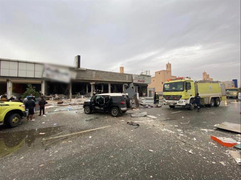 وفاة شخص وإصابة 6 أخرين إثر حادِث تسرب غاز في مطعم بحي المونسية