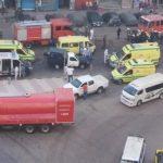 وإصابة 12 شخصاً بحريق مستشفى لعلاج مصابي كورونا في مصر