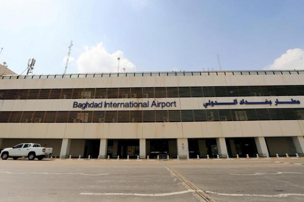 استهداف مطار بغداد الدولي بثلاثة صواريخ