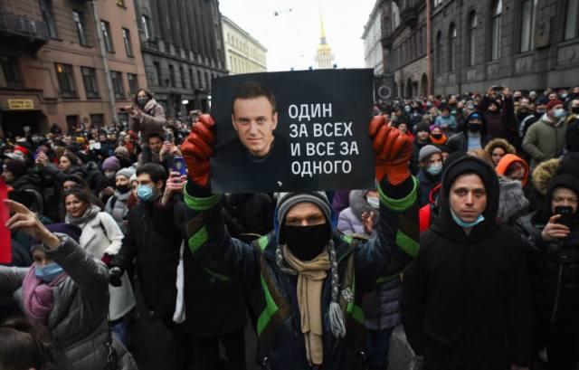 احتجاجات روسيا.. إدانة أمريكية وأوروبية لموجة الاعتقالات والقمع ضد مؤيدي نافالني