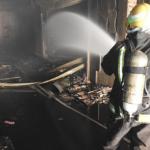 وفاة امرأة وإصابة 5 أشخاص إثر حريق محل تجاري في حي الديرة بالرياض