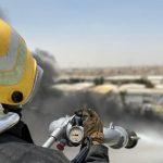 مدني الدمام يخمد حريقًا اندلع في عدد من ورش صيانة المركبات
