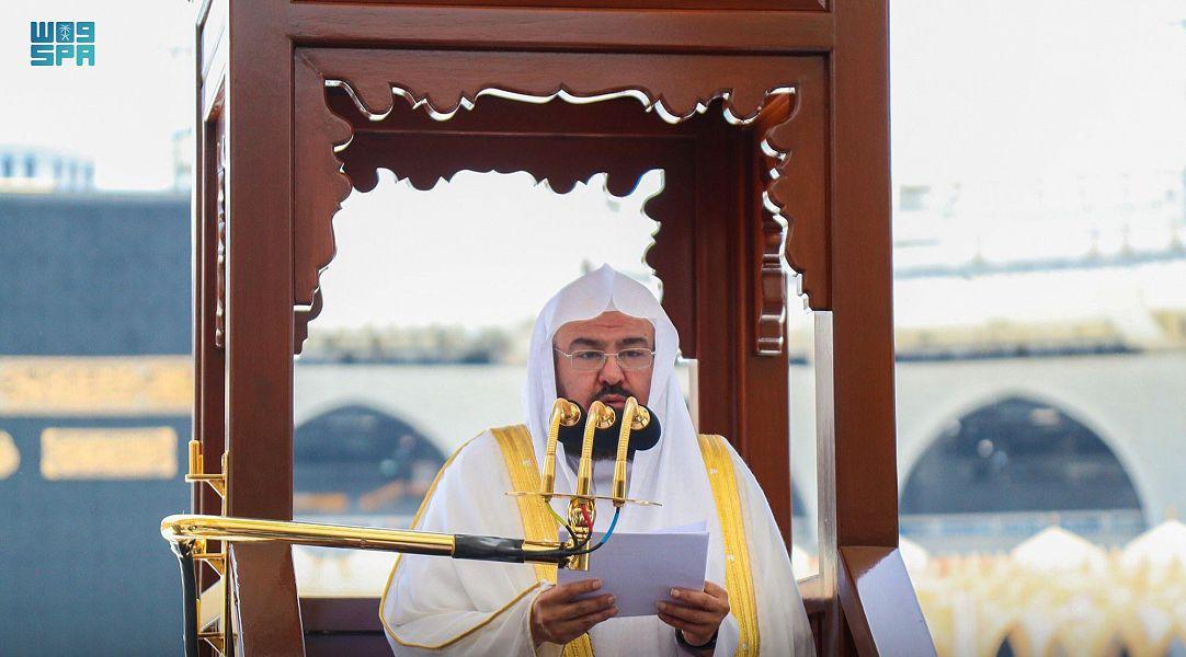 ننشر خطبتي الجمعة من المسجد الحرام والمسجد النبوي