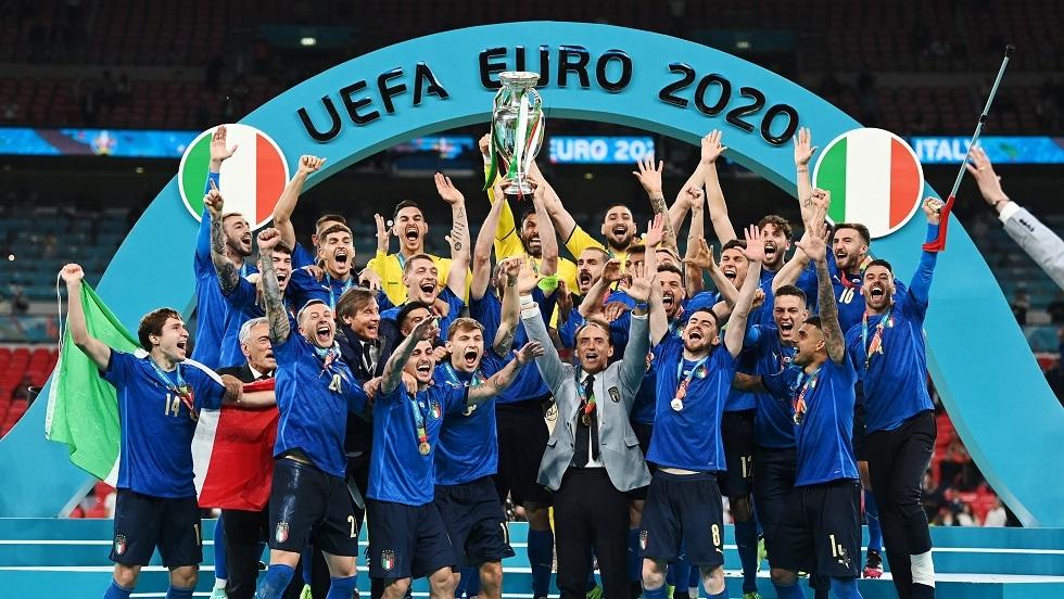 إيطاليا تتوج بطلًا لليورو للمرة الثانية في تاريخها