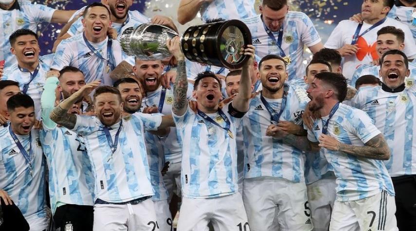 الأرجنتين تفوز على البرازيل وتتوج بكأس كوبا أمريكا
