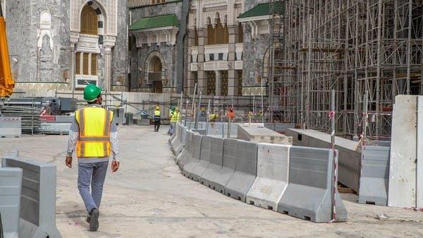 استئناف مشروع التوسعة السعودية الثالثة بالمسجد الحرام