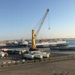 استئناف الحركة الملاحية بين مينائي سفاجا وضبا عقب انتهاء موسم الحج