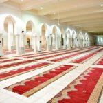"""""""الشؤون الإسلامية"""" تكمل مشروع فرش مساجد المشاعر المقدسة"""
