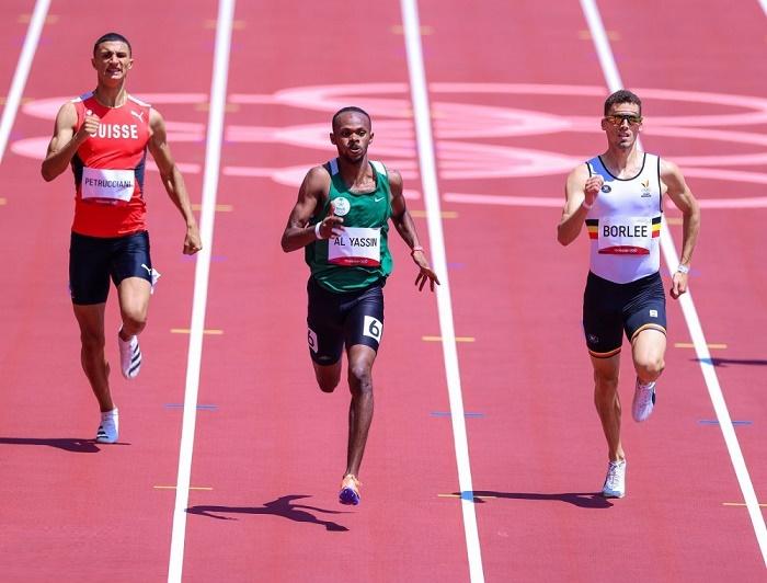 الياسين يحقق المركز الأول في تصفيات الـ 400 متر ويتأهل لنصف النهائي
